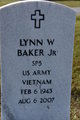 "Lynn Womble ""Buddy"" Baker, Jr"