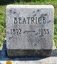 Profile photo:  Beatrice Stewart Betton