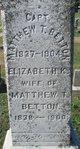 Profile photo:  Elizabeth Jane <I>Kennedy</I> Betton