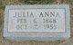 Profile photo:  Julie Anne Aden