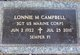 Lonnie M Campbell