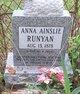 Anna Ainslie Runyan