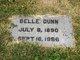 Belle <I>Martin</I> Dunn