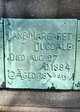 Profile photo:  Jane Margaret Dugdale