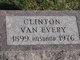 Profile photo:  Clinton Van Every