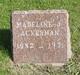 Madeline J Ackerman