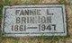 Profile photo:  Fannie L Brinnon