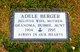 Adele <I>Kerker</I> Berger