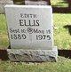 Profile photo:  Edith Ellis