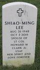 Shiao-Ming <I>Lee</I> Clark