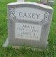 Profile photo:  Ada M. Casey