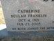 Catherine Beulah <I>Franklin</I> Stewart