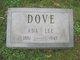 Profile photo:  Ada Lee Dove