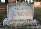 Profile photo:  Mary E. <I>Ashburn</I> Allen