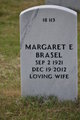 Profile photo:  Margaret E. <I>Karr</I> Brasel