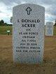 "Profile photo: A1C L Donald ""Don"" Acker"