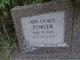 Ada Grace <I>Fowler</I> Cecil