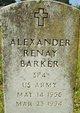 Alexander Renay Barker