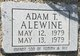 Profile photo:  Adam Thomas Alewine