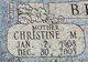 Christine Margaret <I>Mertz</I> Beierle