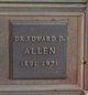 Dr Edward Dudley Allen