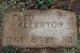 """Frederick Salsbury """"Fred"""" Allerton"""