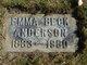 Emma L <I>Beck</I> Anderson