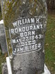 William Henry <I> </I> Bondurant