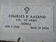 "Profile photo:  Charles R ""Chuck"" Aasand"