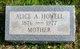 Profile photo:  Alice Ann <I>Partington</I> Howell
