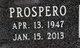 Profile photo:  Prospero <I>Hernandez</I> Aceves