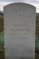 Frieda M Munden