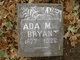 Profile photo:  Ada M. Bryant