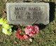 Mary Jane <I>Evans</I> Baker