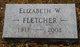 "Elizabeth Alice ""Betty"" <I>Wallerich</I> Fletcher"