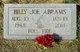 Billy Joe Abrams