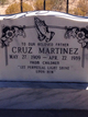 Profile photo:  Cruz Martinez
