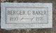Profile photo:  Berger C Baker