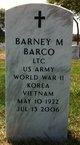 Profile photo: LTC Barney M Barco