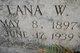 """Atlanta """"Lana"""" <I>Wethington</I> Jackson"""
