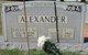 Avis Fay <I>Brasher</I> Alexander