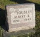 Profile photo:  Albert B. Tousley