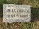 Profile photo:  Julia Amelia <I>Leas</I> Fowler