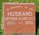 Profile photo:  Arthur H. Melzer