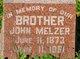 Profile photo:  John Melzer