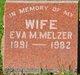 Profile photo:  Eva M. Melzer
