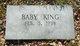 Profile photo:  Baby King
