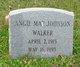 Profile photo:  Angie Mae <I>Johnson</I> Walker