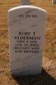 Profile photo:  Ruby T Alderman