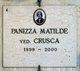 Matilde <I>Panizza</I> Crusca